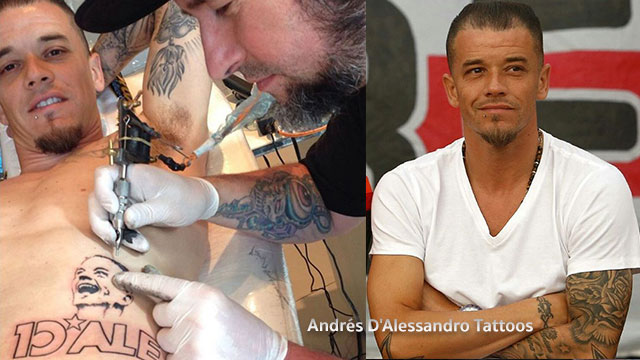 อันเดรส ดาเลสซานโดร Andrés D'Alessandro