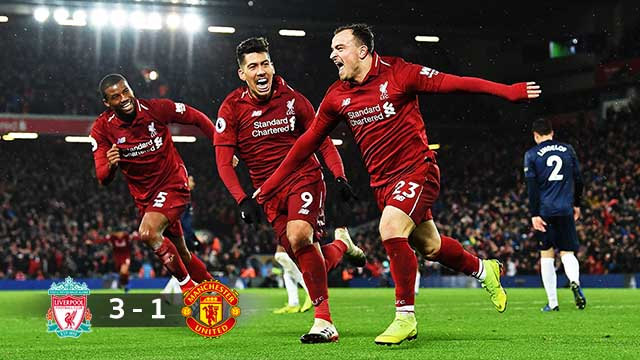 Liverpool 3-1  Manchester United 2018