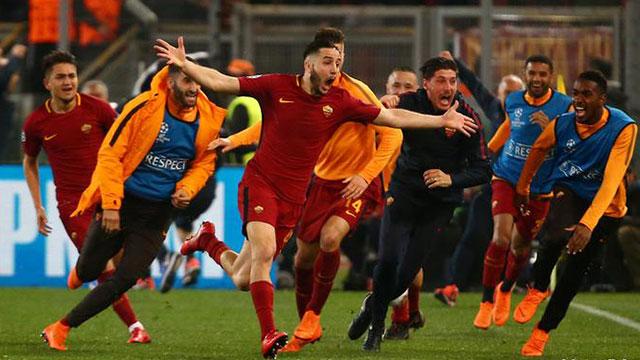 โรม่า 3-0 บาร์เซโลนา 3-0