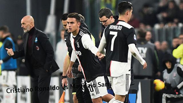 Cristiano Ronaldo Vs Maurizio Sarri