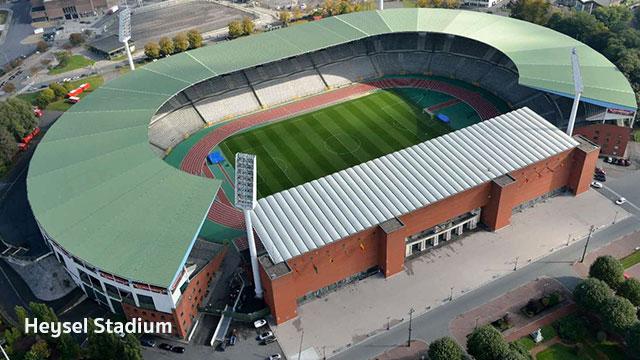 Heysel Stadium 2020