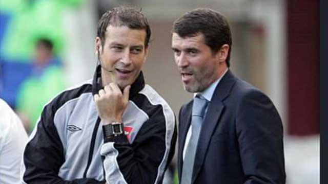Roy Keane &  Mark Clattenburg