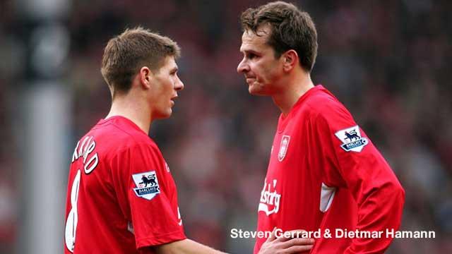 Steven Gerrard & Dietmar Hamann