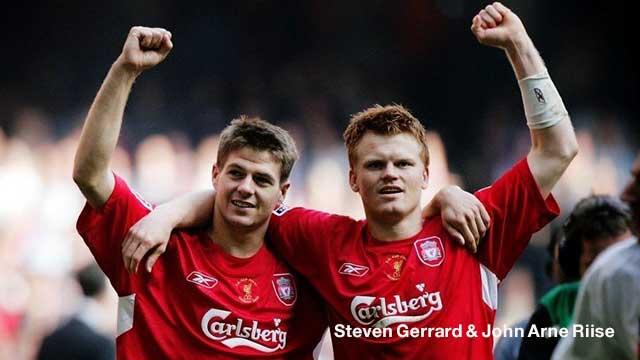 Steven Gerrard & John Arne Riise
