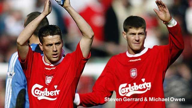 Steven Gerrard & Michael Owen