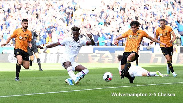 Wolverhampton-2-5-Chelsea 2020