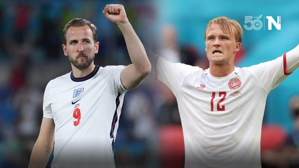 อังกฤษ 2-1 เดนมาร์ก เรตติ้งผู้เล่นจากการปะทะรอบรองชนะเลิศยูโร 2020