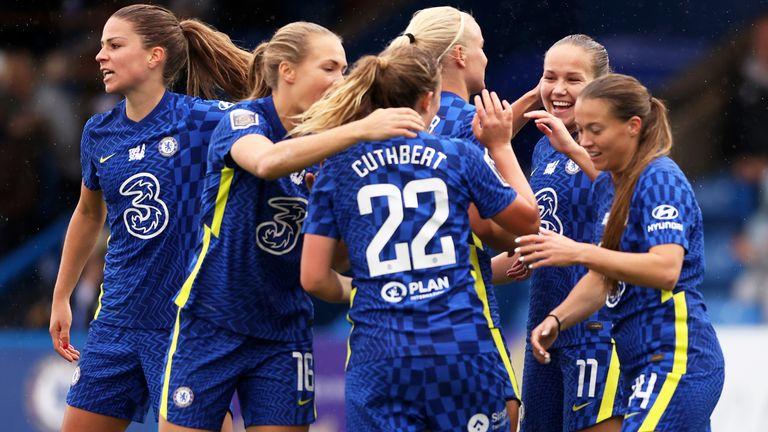 Chelsea Women 3-1 Brighton